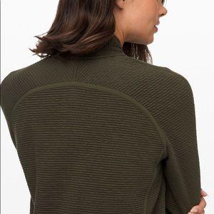 lululemon athletica Jackets & Coats - Lululemon On Repeat Olive Green Bomber Jacket 6